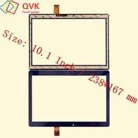 Preto 10.1 Polegada para digma avião 1601 3g ps1060mg tablet pc tela de toque capacitivo painel digitador vidro frete grátis