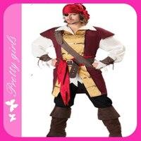 Лидер продаж взрослых Джейк neverland костюм пирата в 2014 + дешевле + Бесплатная доставка + стоимость Быстрая доставка
