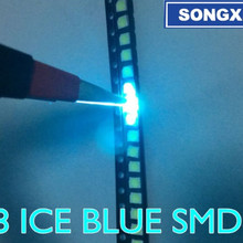 3528 SMD светодиодный светильник с бусинами 1210 яркая вода синий вода-синий(Ледяной Синий) 3528 вода-синий(Ледяной Синий) светильник светодиодный светильник-излучающий диод