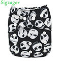 [Sigzagor] 1 Skull Baby Infant Pocket Cloth Diaper Nappy,Reusable Adjustable,Washable, Jack Skeleton Holloween