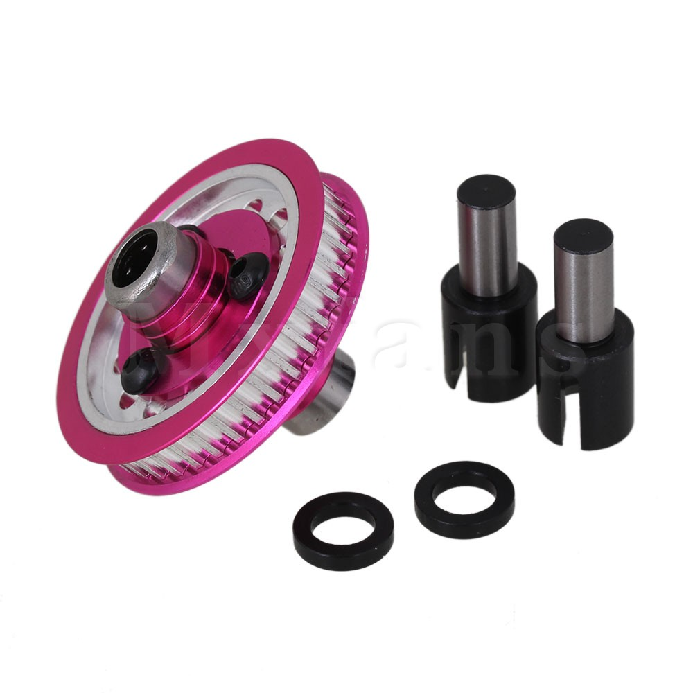 Mxfans RoseRed Aluminum Front One Way Differential Tube for Sakura D3 1 10 CS Drift Car