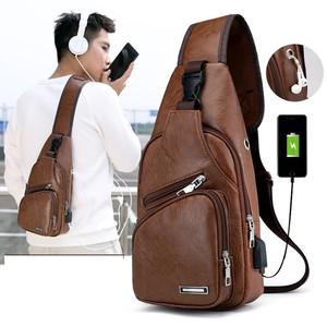 Men's Crossbody Bags Men's USB