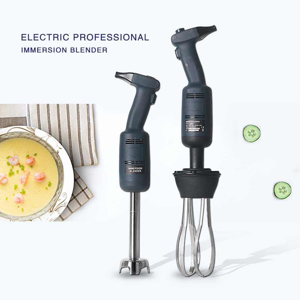 ITOP Multifunctional Hand held Blender Commercial Electric Immersion Food Mixer Juicer Meat Food Processors With Whisk itop stainless steel 5 steaker meat tenderizer steaker with 2 blades rollers commercial meat processors kitchen tools