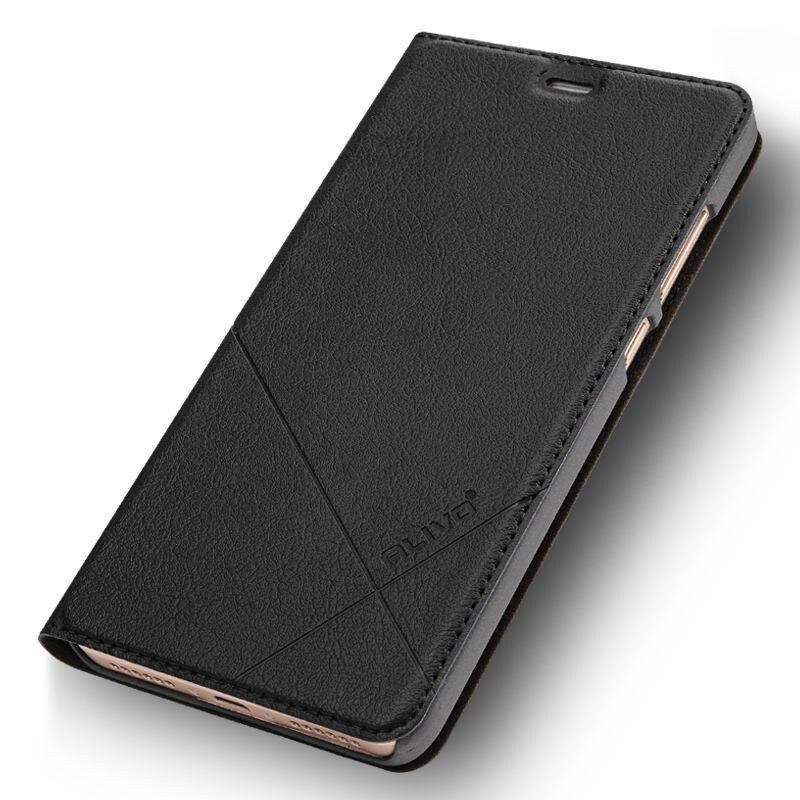 Xiaomi redmi 5 más caso pu cubierta de cuero del tirón de la serie del negocio para xiaomi redmi 5 más 5 más #0918 con número de seguimiento no.