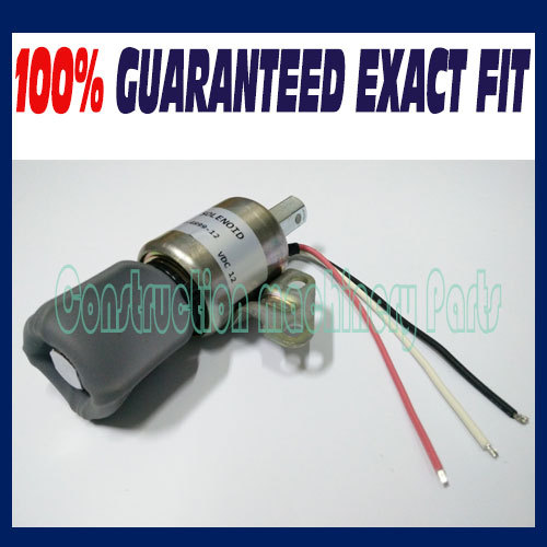 NEW SYNCHRO START SWITCH SOLENOID FUEL SHUTDOWN FOR KUBOTA D722 D902 Z482 & MORE