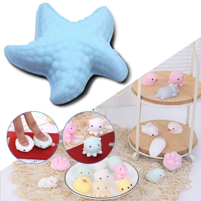 US $0 9 24% OFF|Squeeze Mochi Cute Bread Mini Rabbit Sea Bear Chicken  Squishy Cat Mouse Cotton Candy Slow Rising Phone Strap Kid Squishy Toys-in  Gags