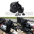 Пластиковый черный корпус с коробкой передач  1 шт.  для 1/10 радиоуправляемого автомобиля  осевого SCX10 SCX10 II 90046 90047  обновленные детали