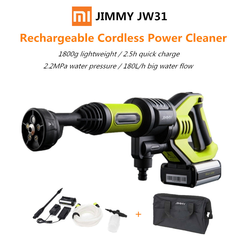 xiaomi jimmy jw31 handheld rechargeable flush gun cleaning tool wireless washing gun self. Black Bedroom Furniture Sets. Home Design Ideas