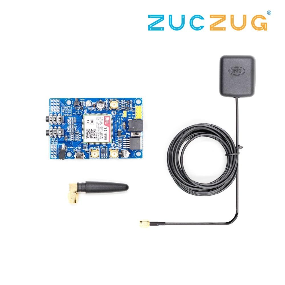SIM808 Modulo GSM GPRS Scheda di Sviluppo GPS SMA Con Antenna GPS Per Arduino