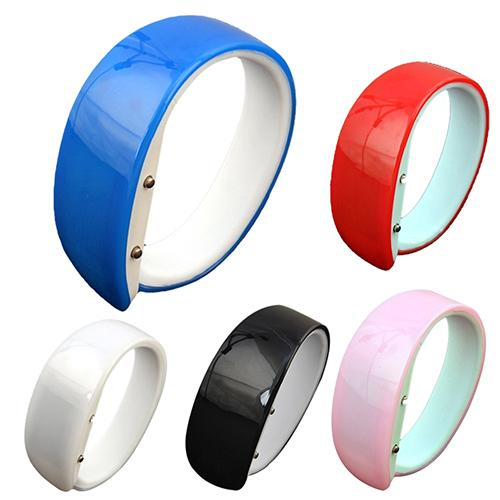 Unisex Dolphin Candy Color LED Digital Silicone Band Casual Sports Wrist Watch Bayan Kol Saati