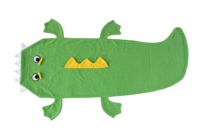 Коротким хвостом крокодила Хвост Кровати Одеяло Прильнуть-в Детский Спальный Мешок Новый