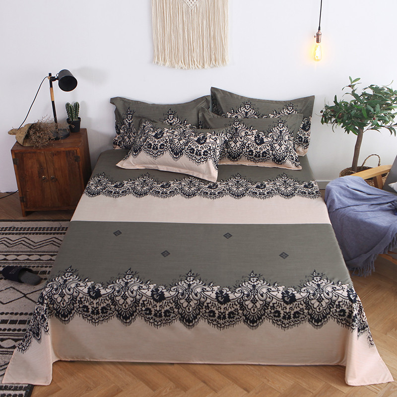 Image 2 - Four Piece Quilt Cover, Exotic Full Size Pillowcase warm wonderful prints with dreaming stars Gently Cycle Only mattress bed pad-in Bedding Sets from Home & Garden