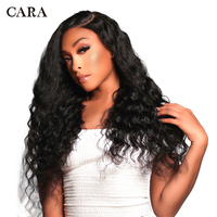 Glueless Pre Plucked Full Lace Human Hair Wigs Brazilian Loose Wave Human Hair Full Lace Wig With Baby Hair 250% Remy CARA