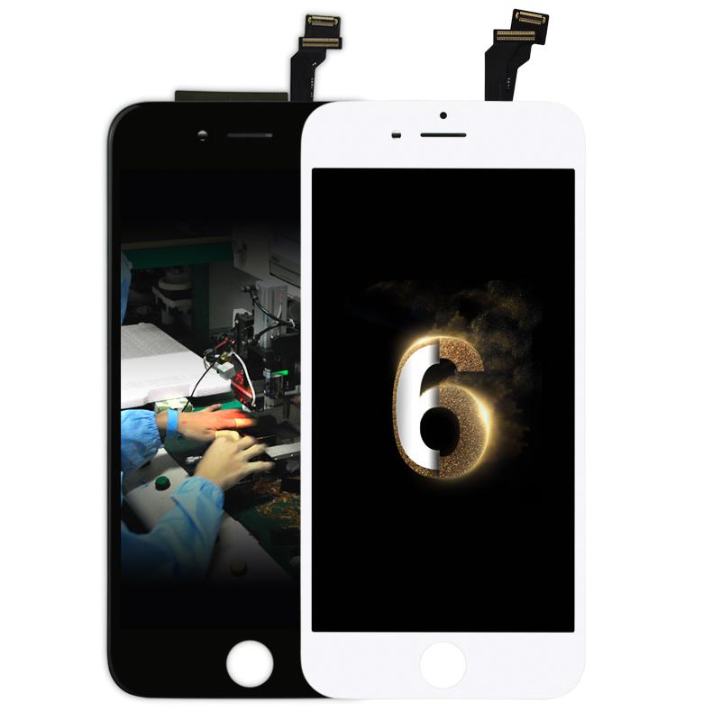 Prix pour 10 PCS/LOT Écran Tactile Digitizer Affichage + Assemblée LCD de Remplacement pour iPhone 6 4.7 DHL Ship