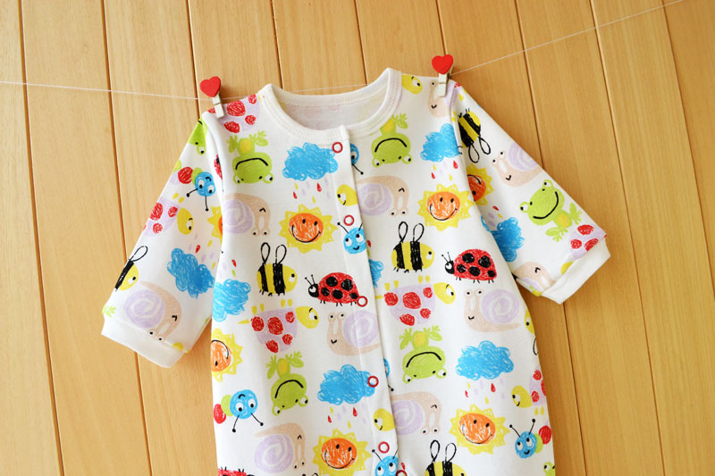 17 New spring cartoon baby rompers cotton 100% girls and boys clothes long sleeve romper Baby Jumpsuit newborn baby Clothing 18
