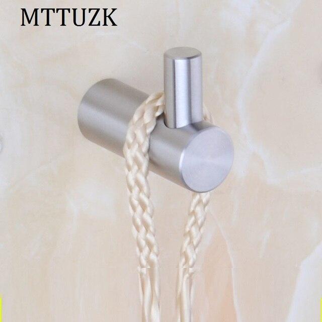 Mttuzk Solid 304 Rvs Robe Haken Muur Haak Geborsteld Kleerhanger