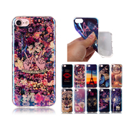 Blue Light Soft TPU Case For Apple IPhone 7 4 7 Lite New Fashion Cool Design
