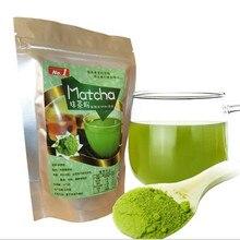 80 г органический зеленый чай matcha порошок Чистый органический портативный зеленый чай matcha порошок Professional Kitchenpaper торт выпечки инструменты