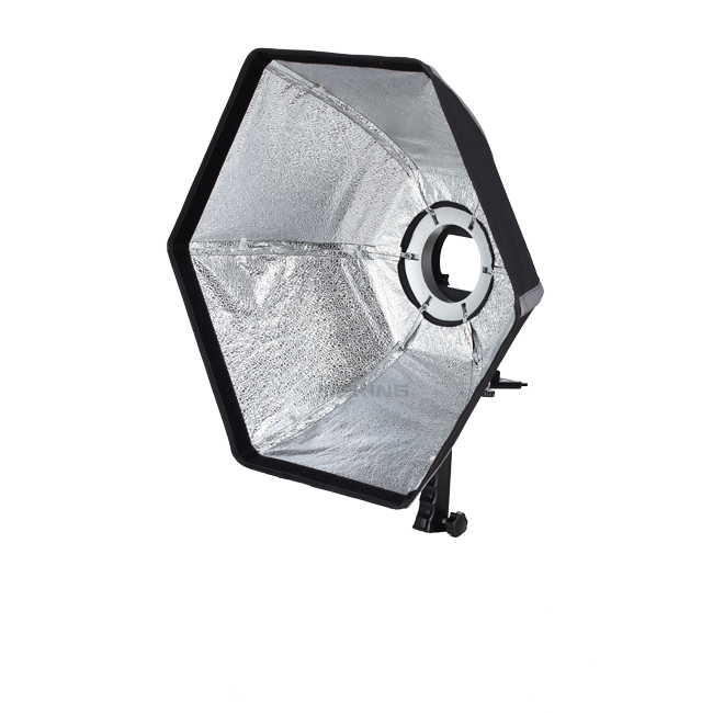 ФОТО Selens photographic Softbox 50cm Hexagon Softbox with L-Shape Adapter Ring Photo Studio Accessories