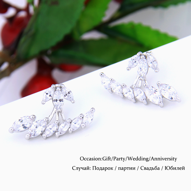 b8bbbf41c Vintage Marquise Stud Earrings Top Quality CZ Crystal Ear Studs Online  Shopping India Famous Brand Fashion Jewelry brincos WE238