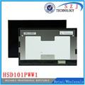 Original 10.1 ''pulgadas 1280*800 HSD101PWW1 A00-A00 HSD101PWW1 Rev: 4 para ASUS TF300 Tablet PC OLED LCD Pantalla Envío gratis
