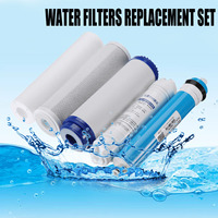 75/100/125GPD RO Membrane Home Kitchen 5 Stage Reverse Osmosis System Replacement Water Filter Water Purifier Filtration