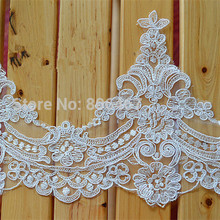 Free shipping 16 CM Embroidery lace trimming