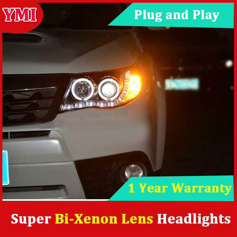 Fashion Style Lampever Styling For Pajero V73 Headlights Led Headlight Drl Lens Double Beam H7 Hid Xenon Car Accessories Back To Search Resultsautomobiles & Motorcycles