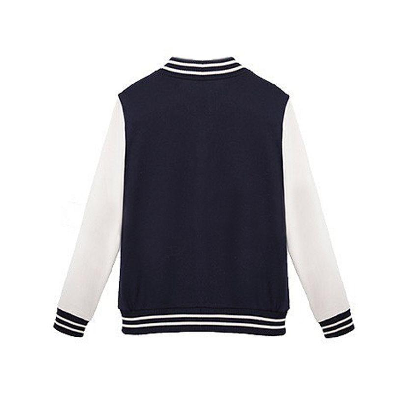 Women New Streetwear Baseball jacket Autumn Winter Cotton Active Stand Collar Pockets Coat Hoodies