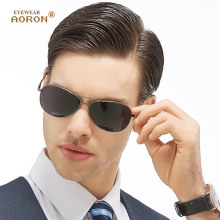 AORON New UV400 Cool Aviation Sunglasses Yurt Driving High Quality Men's Polarized Sunglasses Glasses Goggles A103