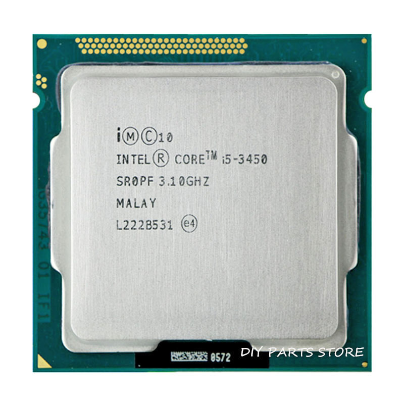 Intel Core I5 3450 I5-3450 3.1GHz/ 6MB Socket 1155 CPU Processor HD 2500 Supported Memory
