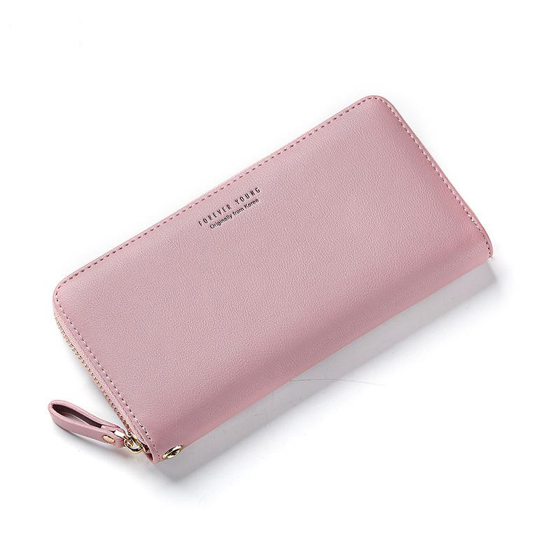 Weichen Brand Designed Women Long Clutch Wallet Large Capacity Wallets Female Purse Lady Coin Purses Phone Card Holder Carteras weichen women elegant long wallet clutch purses female portable multifunction long solid card coin change purse bags lady