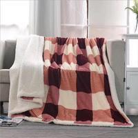 Fyjafon Winter Berber Fleece Blanket Bed Sofa Double Layer Winter Blanket 150 200cm 200 230cm 2