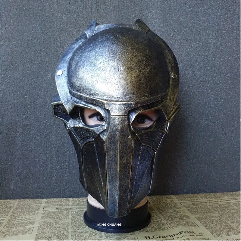 Aspiring Predator Falconer Cosplay Mask Play Props 1:1(life Size) Helmet Headgear Gk Action Figure Collectible Model Toy Box D579
