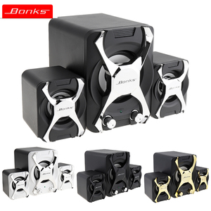 Portable Combination Speakers 3D Stereo