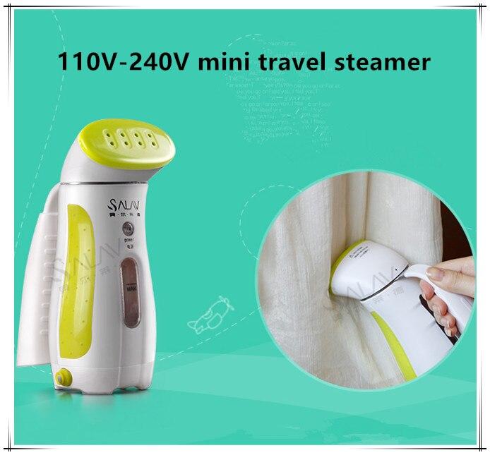 100V-220V Travel Steamer Mini Portable Handheld Garment Steamer for Clothes Home Electric Steam Iron Brush Steamer clothes iron