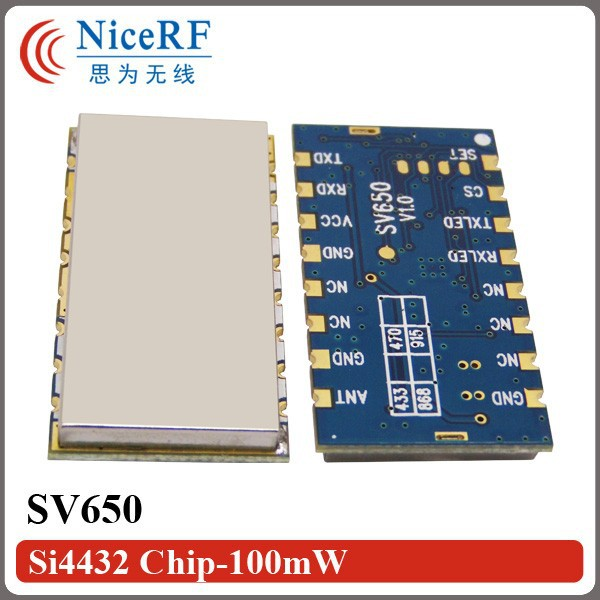 SV650-Si4432 Chip-100mW