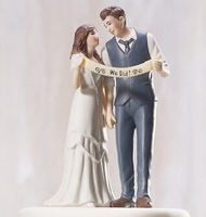 Free shipping Cake Decoration Cake topper Wedding Couple Figurine Custom Couple all over the world