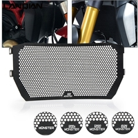 For DUCATI MONSTER 821 MONSTER 1200/1200S 2014 2015 2016 Motorcycle Accessories Radiator Guard Protector Grille Grill Cover