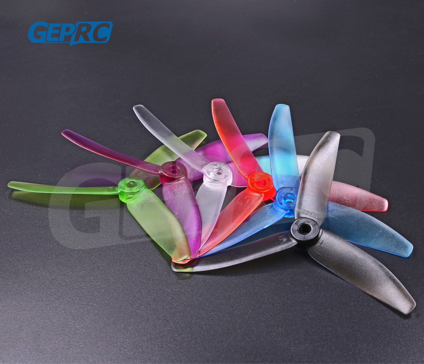 10 Pairs GEPRC <font><b>5040</b></font> <font><b>Props</b></font> 5 Inch CW CCW 3 Blade Propeller For RC Quadcopter Models Toys Spare Part image