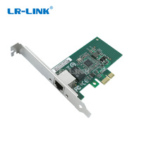 LR LINK 9204CT Gigabit Ethernet RJ 45 LAN Card Network Adapter 10/100/1000Mb PCI E Network Card Intel I210 T1 Compatible