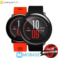 Английская версия Huami Amazfit темп умные часы подарок gps открытый Бег Smartwatch Носимых устройств 1,2 ГГц 512 МБ/4 ГБ для Xiaomi