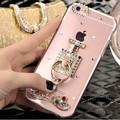Новые Популярные кольцо Стент камень Анти-капля телефон case Для Huawei Y6 II 5C 5X 4А 4C 4X honor 8 V8 антидетонационных защиты крышка