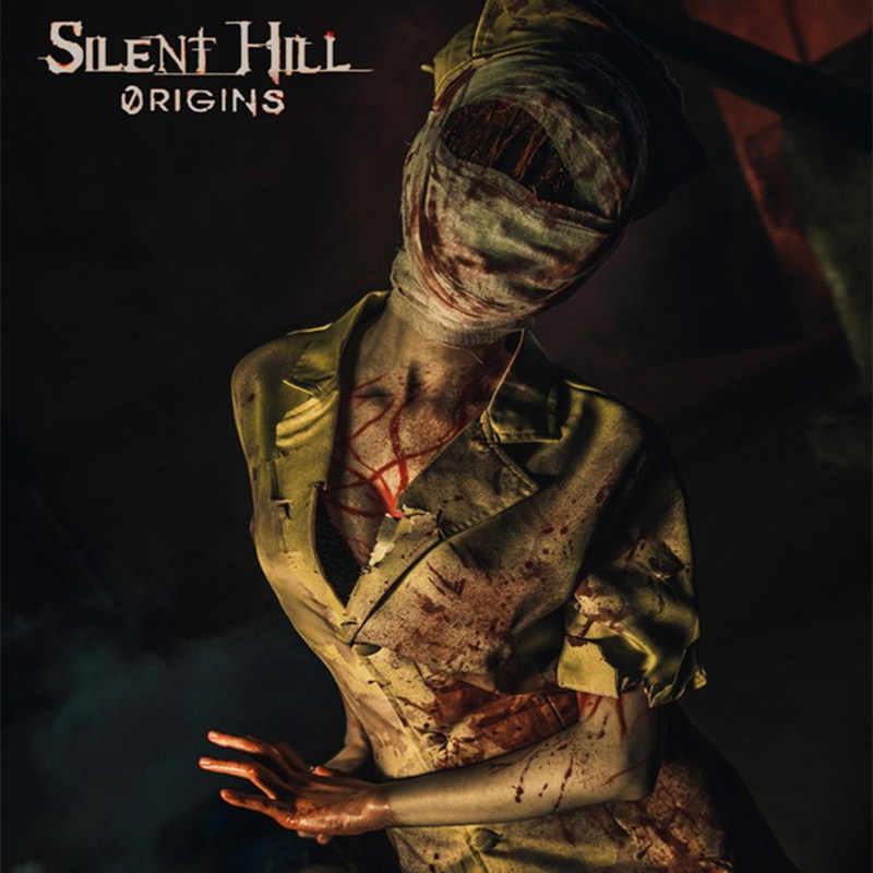 Movie Silent Hill Nurse Horrible Dress Party Uniform Suit Halloween Cosplay Costume Aliexpress