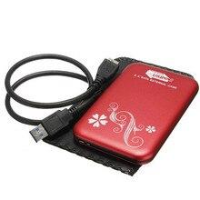 Metall Fall Tragbare Externe Festplatte 2,5 HDD 1 TB USB 3.0 Laptop Mobile Festplatten Für Windows Mac