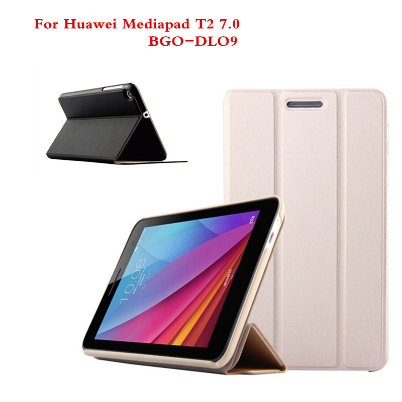 SD For Huawei Mediapad T2 7.0 BGO-DL09 Tablet PC Cover PU Leather Stand Holder Slim Protective Flip Case mediapad m3 lite 8 0 skin ultra slim cartoon stand pu leather case cover for huawei mediapad m3 lite 8 0 cpn w09 cpn al00 8