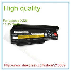 Original Quality New Laptop Battery for X220 X220I X220S 42T4866 0A36283 42T4872 42T4942 94WH 29++ 9CELL