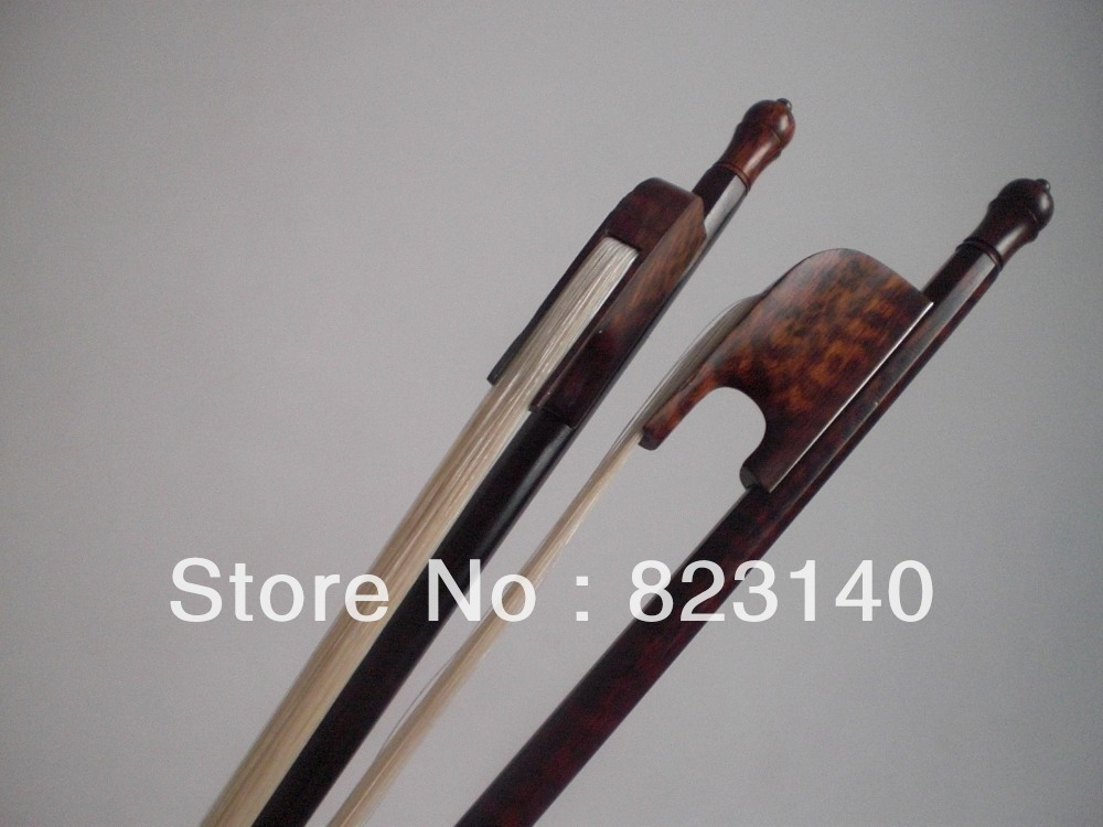 2 PCs Nice Snakewood Baroque VIOLA bow with Mongolia White bow hair 30 250g no a mongolia nature violin bow hair