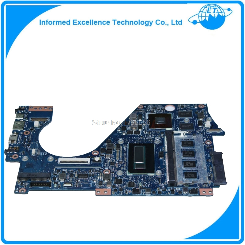 Mainboard For Asus UX302 UX302L UX302LG UX302LN UX302LNB I7-4500U GT730M 4G Laptop Motherboard System Board Main Board  Card