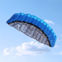 Surfing With Flying Dual Line Power Stunt Parachute Children Outdoor Fun Sports 4 Colors Solid Sports